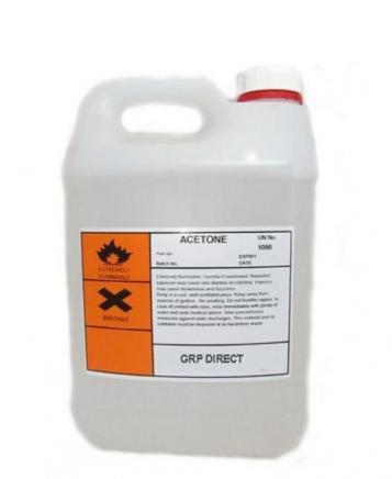 Acetone (CH3)2CO 160 Liter